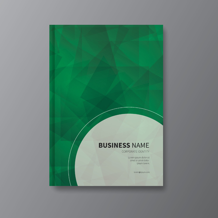 a5: vector brochure, flyer or leaflet for business or advert