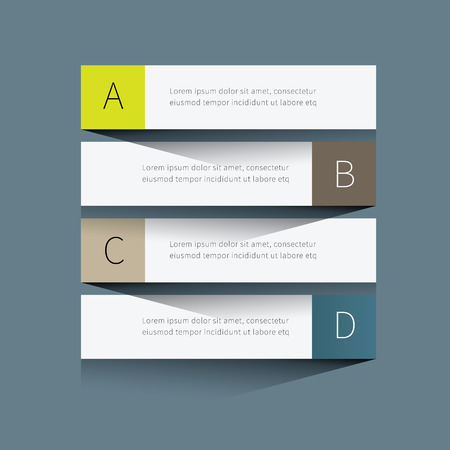 simple and clean tabular graphic for business background