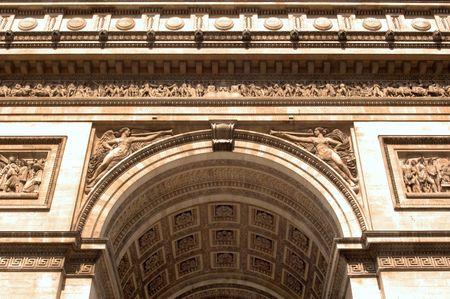 napoleon i: Arc de Triomphe - Arch View