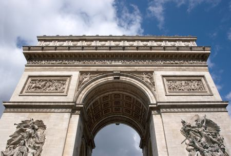 napoleon i: Arc de Triomphe