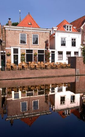 traditionally dutch: Spaarndam - Village Buildings