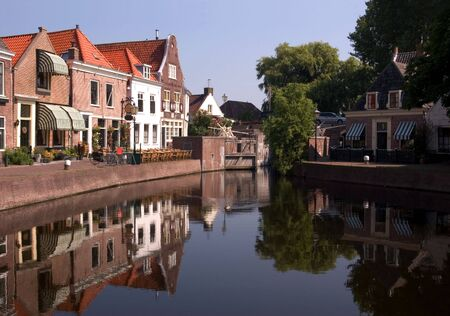traditionally dutch: Spaarndam - Harbour Reflections