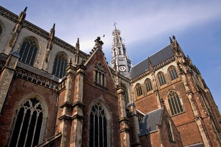 St Bavos Church - Haarlem, the Netherlands