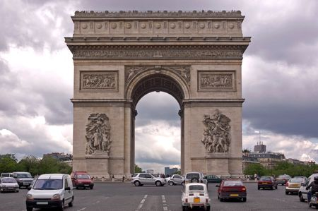 napoleon i: The Arc de Triomphe