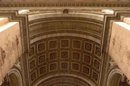 Arc de Triomphe - Ceiling Details Stock Photo - 1283073