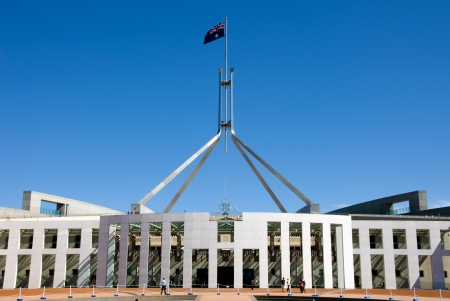 Parliament House, Canberra, Australia photo