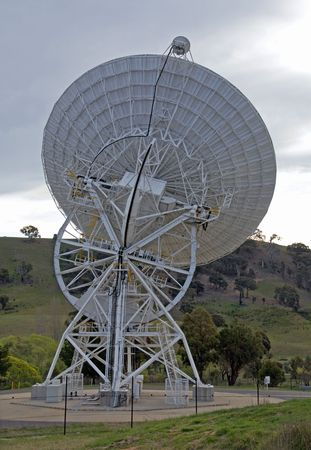 radio telescope: Radio Telescope at Tidbinbilla Space Tracking Centre, Canberra, Australia