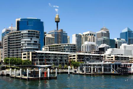 Cockle Bay, Sydney Harbour Reklamní fotografie - 2084074