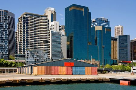 Wharf & City Buildings photo