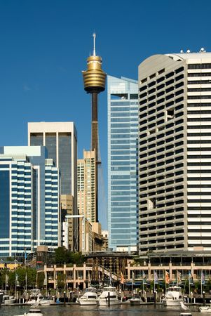 centrepoint tower: Centrepoint Tower & City Buildings