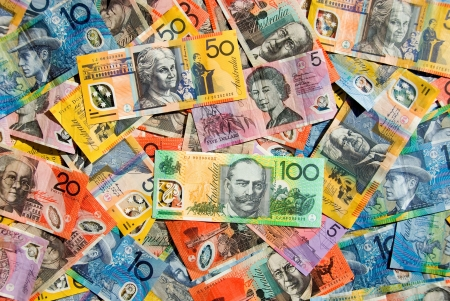 five dollars: Australian Currency