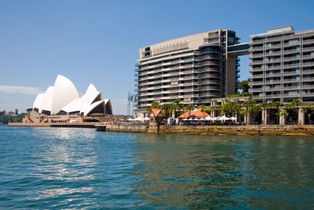 the quay: The Opera House, and other Buildings at Circular Quay, Sydney, Australia