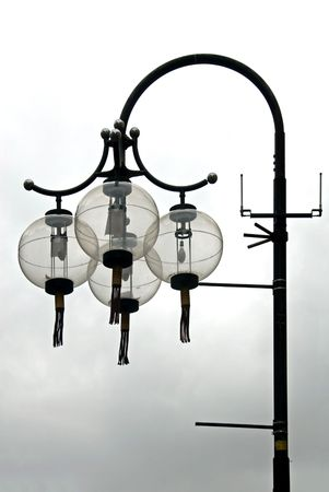 tassles: Chinese Street Lantern