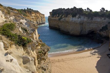 ard: Loch Ard Gorge, Port Campbell National Park, Victoria, Australia Stock Photo