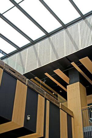 shopping centre: Inside a modern shopping centre, Melbourne Stock Photo