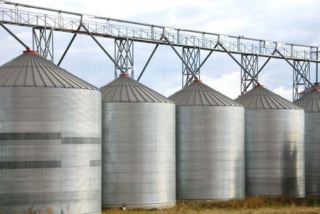 Grain Silos photo