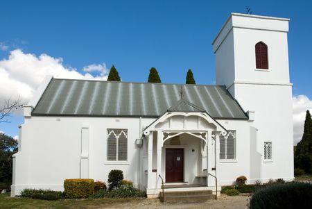 bong: Christ Church, Bong Bong, near Moss Vale, New South Wales, Australia Stock Photo