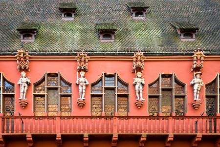freiburg: The Muenster(town) hall, Freiburg, Germany