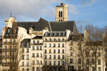 parisian: A Parisian apartment building