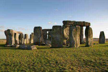 wiltshire: Stonehenge, near Amesbury, Wiltshire, England