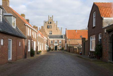 traditionally dutch: A laneway in a small Dutch village
