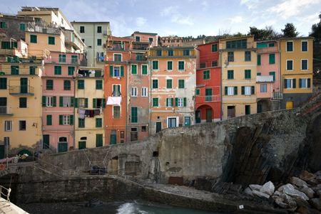 The quaint, picturesque fishing village of maggiore, Cinque Terre, Italy Stock Photo - 6443125