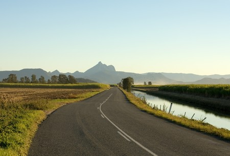 A road leading to Mount Warning, Northern New South Wales, Australia Stock Photo - 7405758