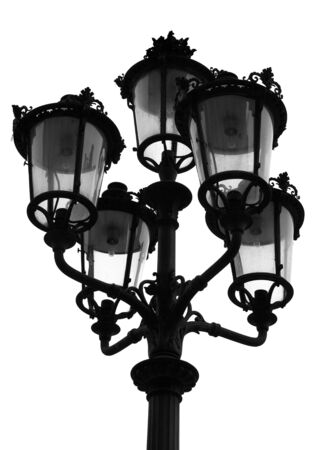 Parisian Street Light photo