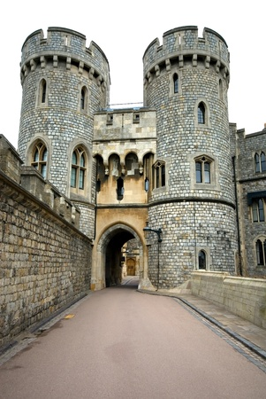 A walkway in Windsor Castle, England, Great Britain Stock Photo