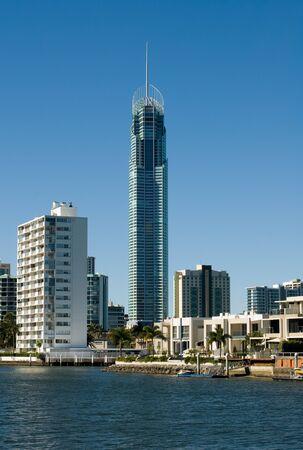 Highrise apartment buildings, Surfers Paradise, Queensland, Australia photo