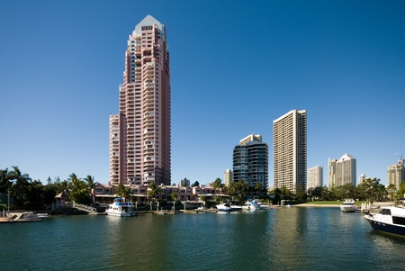 Highrise apartment buildings, Surfers Paradise, Queensland, Australia Stock Photo - 11022080