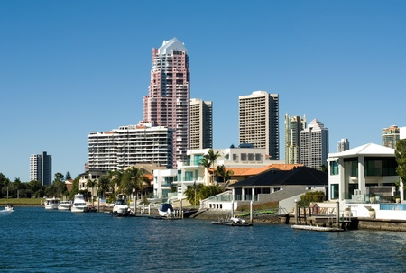 Highrise apartment buildings, Surfers Paradise, Queensland, Australia Stock Photo - 11022195