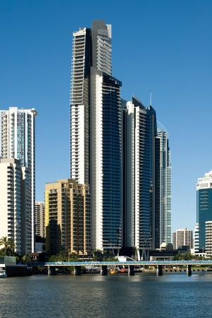 Highrise apartment buildings, Surfers Paradise, Queensland, Australia Stock Photo - 11022084