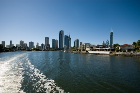 Canal Scene, Surfers Paradise, Queensland, Australia Stock Photo - 11016000