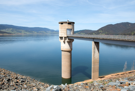 snowy mountains: Blowering Dam, near Tumut, in New South Wales, Australia