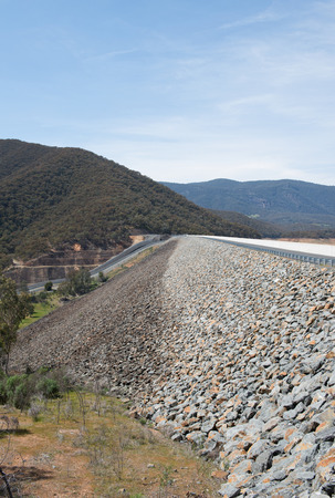 new south wales: Blowering Dam, near Tumut, in New South Wales, Australia