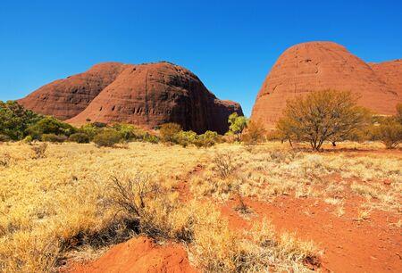 Kata Tjuta (the Olgas), Northern Territory, Australia Editoriali