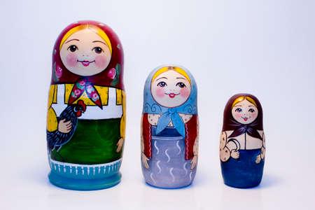 muñecas rusas: muñecas rusas Foto de archivo