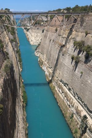 isthmus: Corinth canal isthmus, Greece