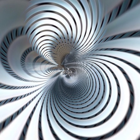 pale metallic futuristic abstract background with spiral design