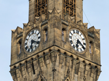 centenary: the clocks and tower of bradford town hall
