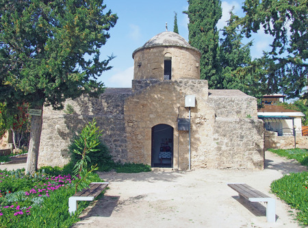 Church of St Anthony in Paphos Cyprus Stock Photo