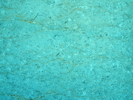light blue turquoise stone texture with a cracked irregular granular textured surface with an uneven distressed conglomeration surface Reklamní fotografie - 111305713