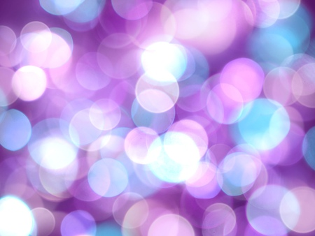 purple bright abstract background with white and violet soft glowing blurred lights Stock Photo