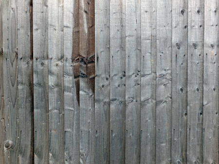 grey timber background wall made of old textured grainy wooden planks