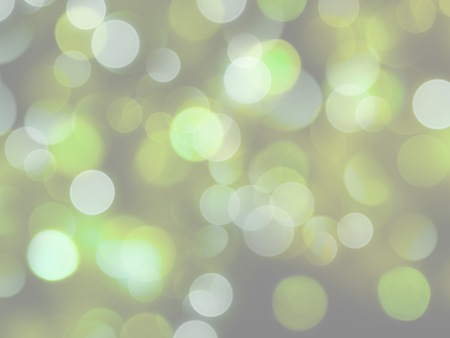 bright glowing glowing lights in soft green and white colours background Stock Photo