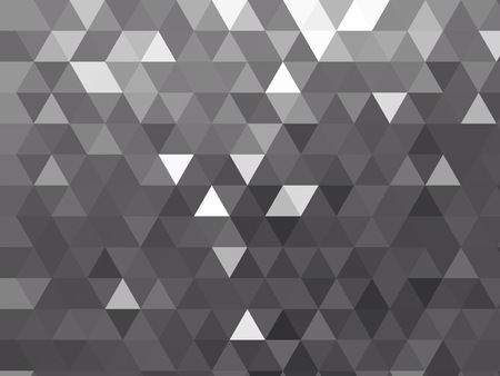 modern silver grey metallic polygon background with repeating triangle design