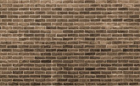 brown toned brick wall with repeating pattern Фото со стока