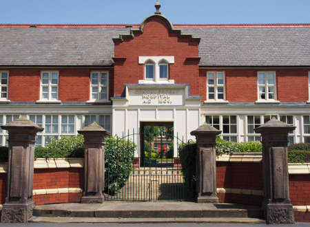 the former convalescent hospital established by the southport strangers charity in 1806 and later rebuilt in a gothic revival style in 1853