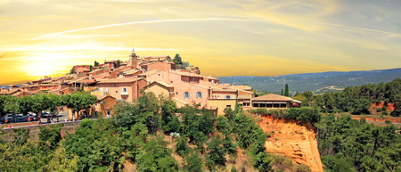 roussillon: France - Roussillon Stock Photo